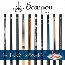 Scorpion Cues Trade Show Deal