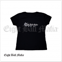 Eight Ball Mafia TSEBM05B T-Shirt Scoop Neck
