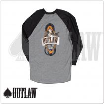 Outlaw TSOL01 Baseball Cut T-Shirt